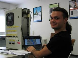Иван Куц на тренинге в Италии