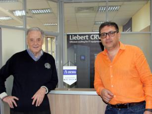 Вассилис Гриссин и Владимир Топалов (директор Альфа Гриссин Инфотек Украина)