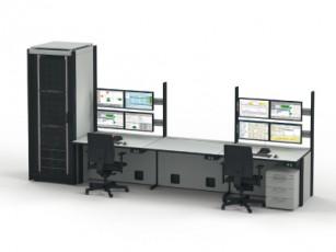 АРМ администратора МЦОД на базе технологической мебели Knurr